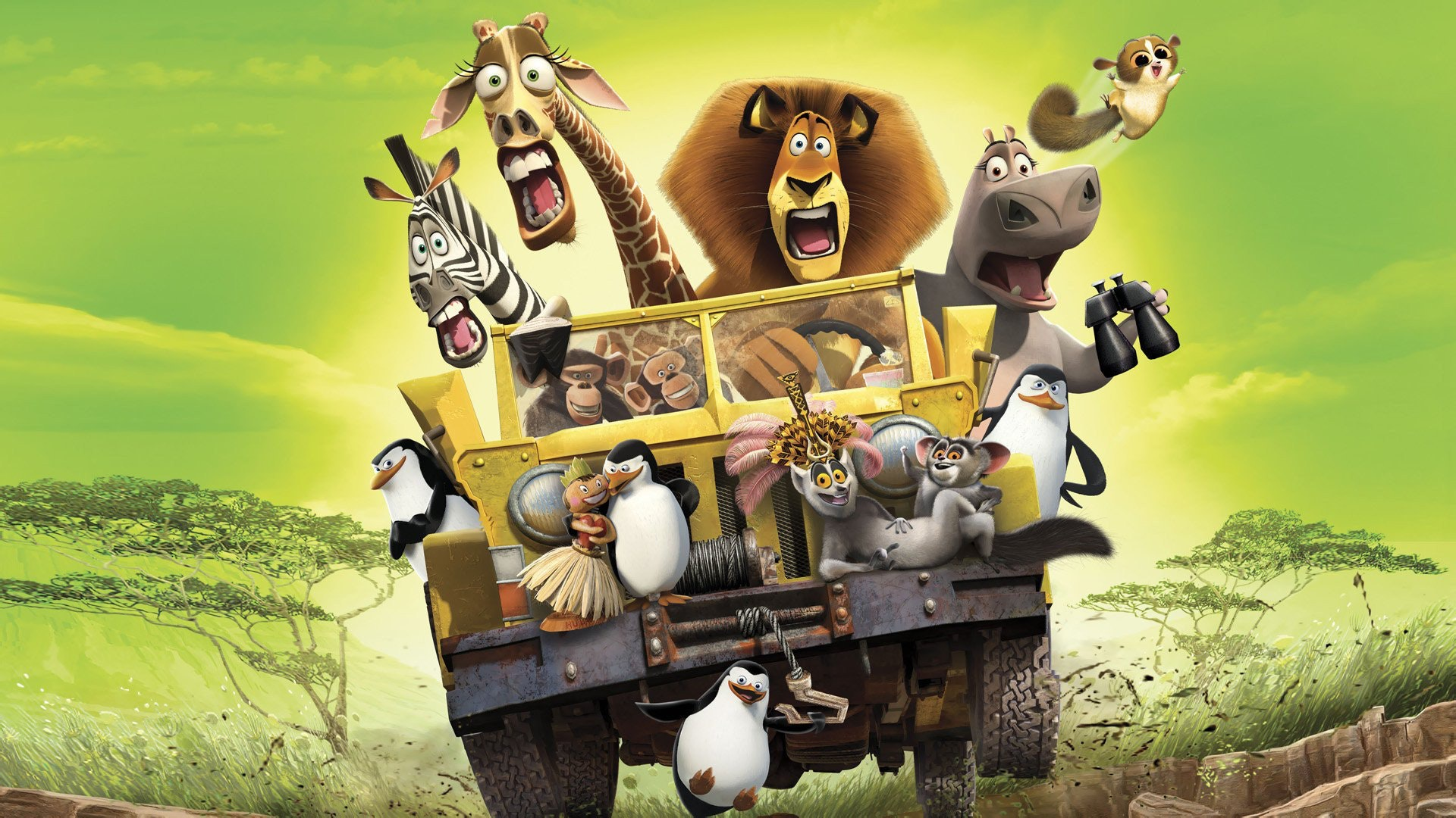 Madagascar Escape 2 Africa Music Soundtrack Complete Song