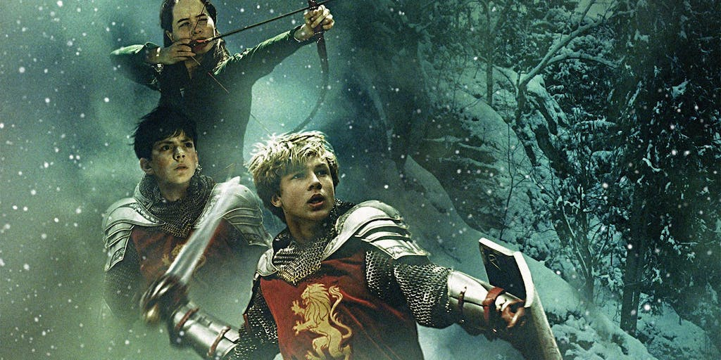The last battle narnia: the witch, the lion and the wardrobe.