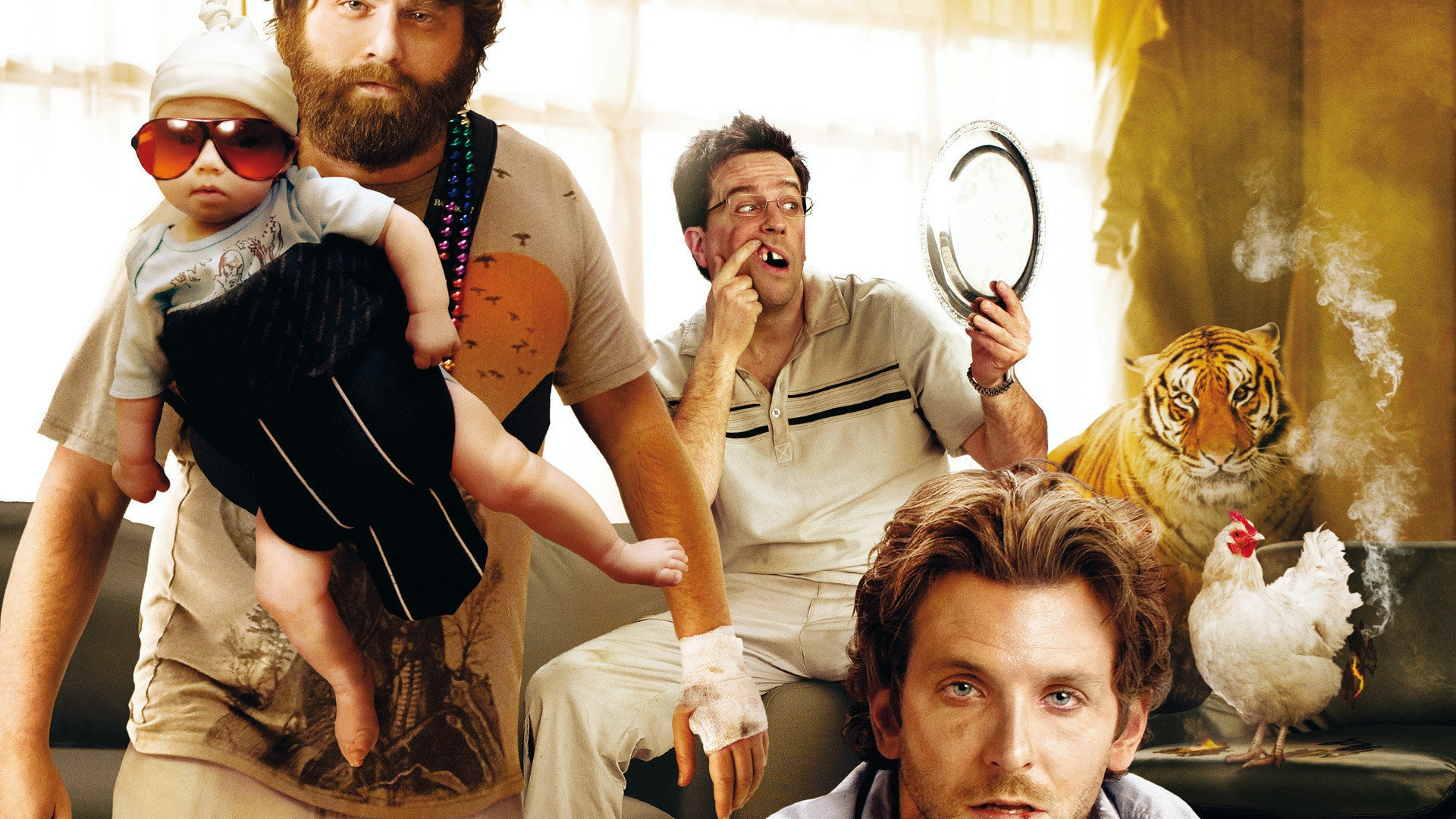 Image result for hangover tiger image
