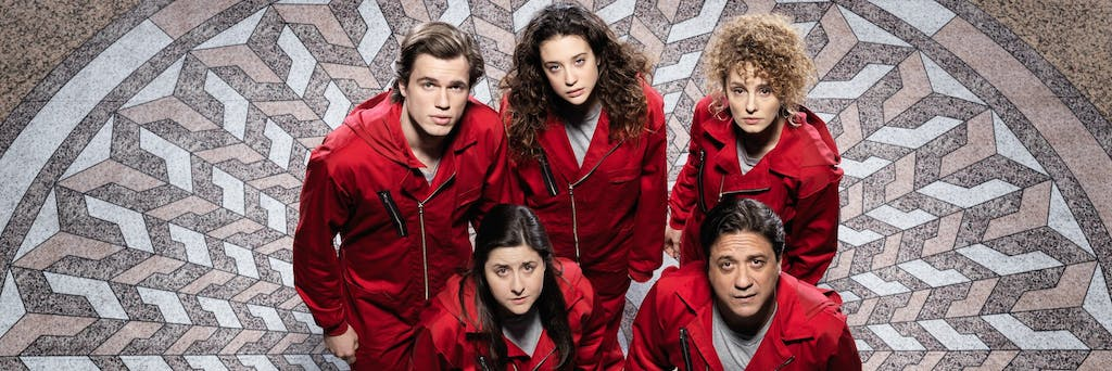Who else likes La casa de papel - Money Heist? — Steemit
